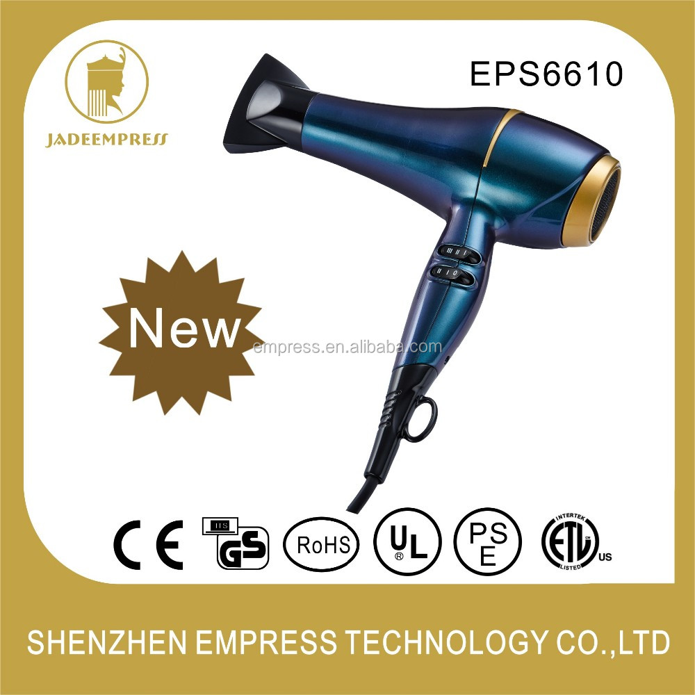 AC/DC motor High Quality Hair Dryer 2300W Hair blow dryer EPS6610