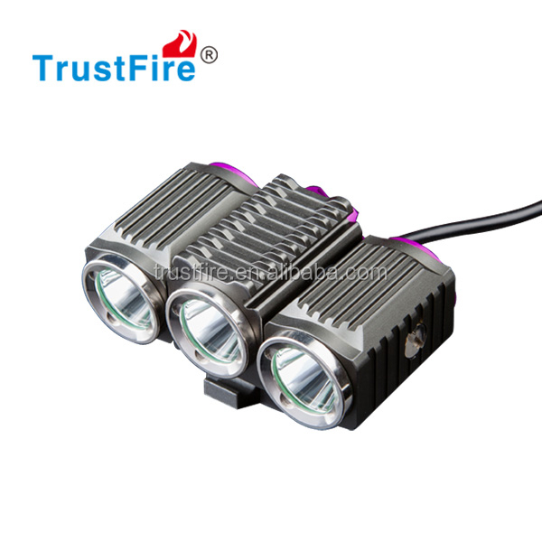 Factory price TR-D012 bicycle light CREE XM-L 2 1200 lumens bicycle led front light set mountain bike accessories