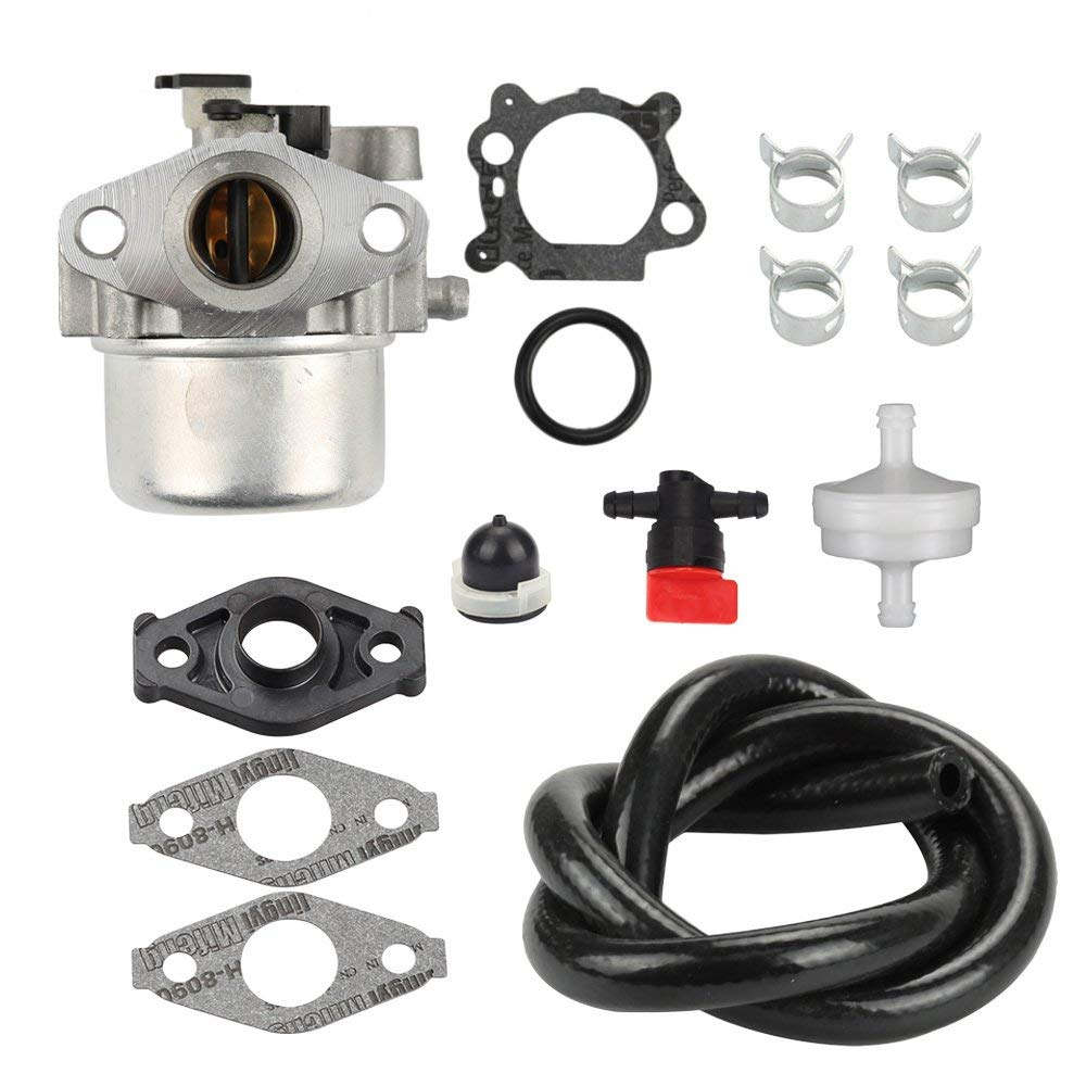 Get Quotations · Buckbock MIA11798 Carburetor with Tune Up Kit for John  Deere JS20 JS25 JS26 JS28 JS30 JS36