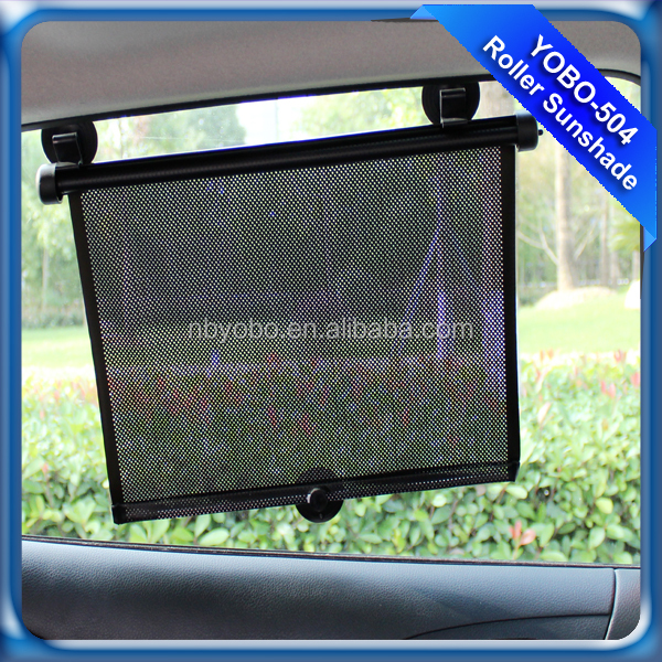 Customized roller car side window sunshade child protector shade