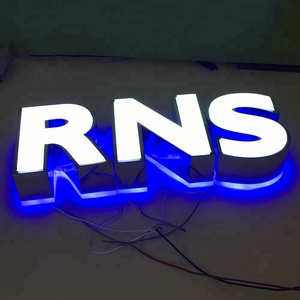 The most fashionable led 3d signs for sale
