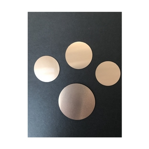 Gloss Copper Metal Circle for Medals Sublimation Aluminum Blanks