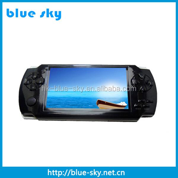 """2. 4"""" qvga mp4 player psp game player 1gb/2gb/4gb china -."""