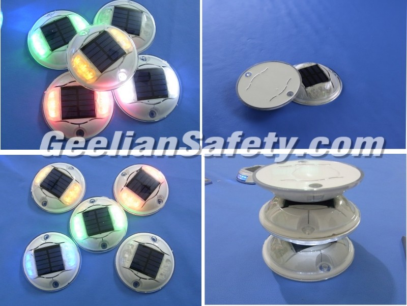 Bright Colours Plastic Reflective Road Stud of Factory Price