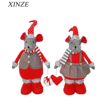 Usa Customer Christmas Gift For Sale Cute Plush Toy Mouse For Kids ...