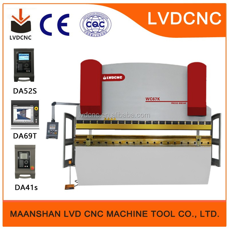 USA Quality CNC Hydraulic Press Brake for USA JMT Technical