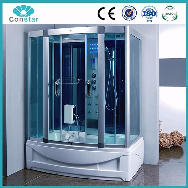 2017 New Arrival Hangzhou Constar Touch Screen Panel High Tech Cheap Good  Shower Room With Steam