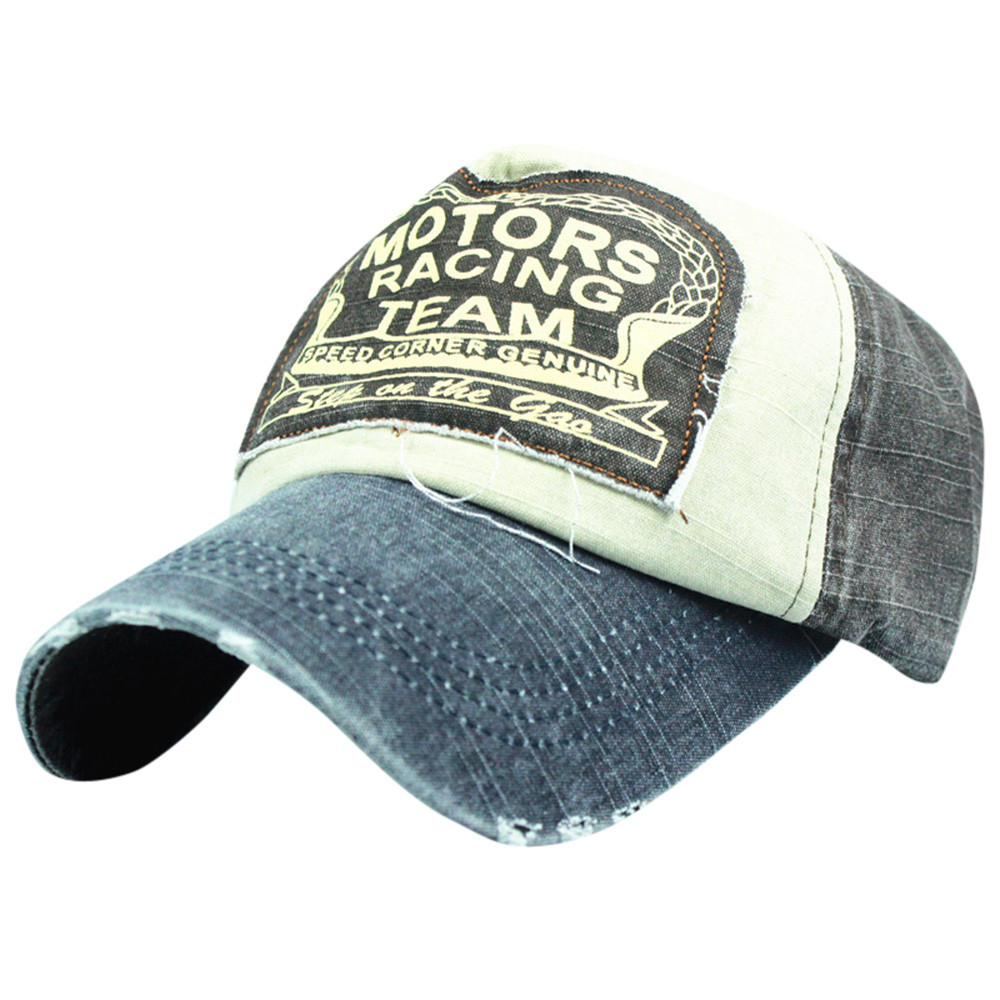 134adee38 feitong colorful hat mens vintage cap women 2018 denim fashion baseball cap  for woman men outdoor ##*