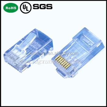 Modular Plug 8p8c Rj45 Connector/rj45 Internet Plug,Rj11 Rj12 - Buy ...