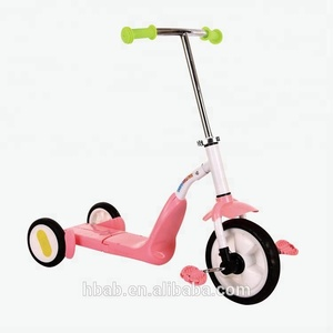 Multi-function kids ride on toys 3 in 1 children Foot Kick Scooter