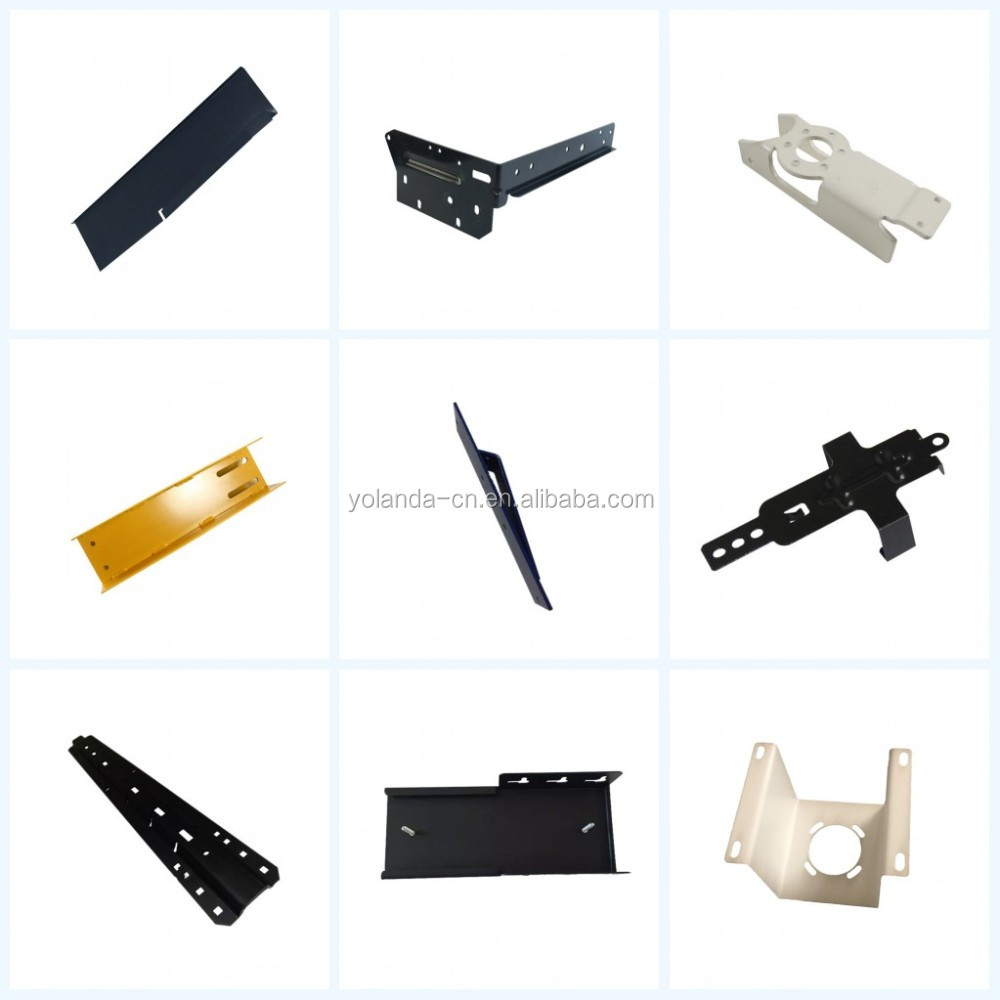 Customized Galvanized Sheet Wood Mounting Bracket For