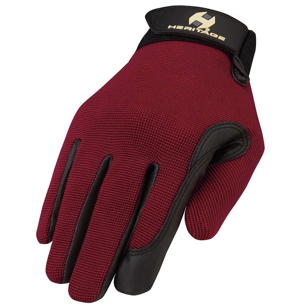 Heritage Performance Gloves Dark RED 5