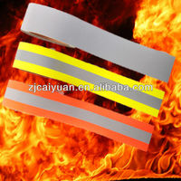 reflective nomex fire resistant fabric