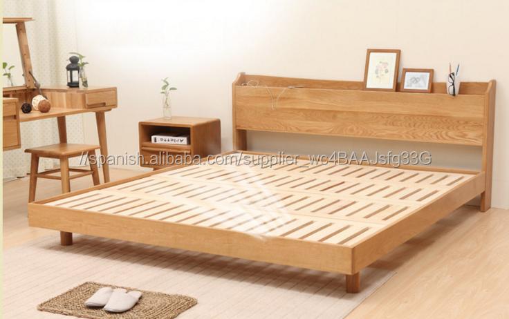 Disenos de camas de madera decoracion del hogar for Muebles rey terrassa