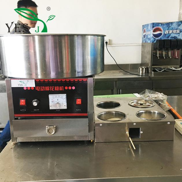 2017 New Type Beautiful Flowers Commercial Cotton Candy Machine