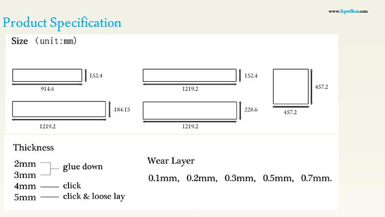 Vinyl Flooring Thickness Specification Gurus Floor