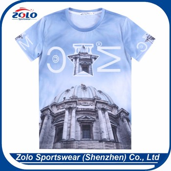 Wholesale professional cheap popular quick dry high quality plain t-shirt
