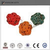 Fancy ceramic hanging flower home decorative gift items (Red&Green&Orange)