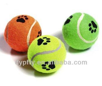 Mini Custom Logo Printed Squeaky Tennis Balls For Dogs Buy Mini