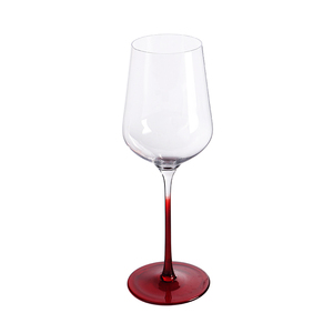 W497 Fda Certificate CustomLogo Antique Silver Wine Glass