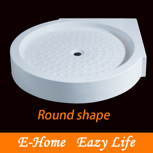 round shower tray