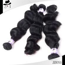 alibaba Vendors sew in human hair weave ombre hair neon native american