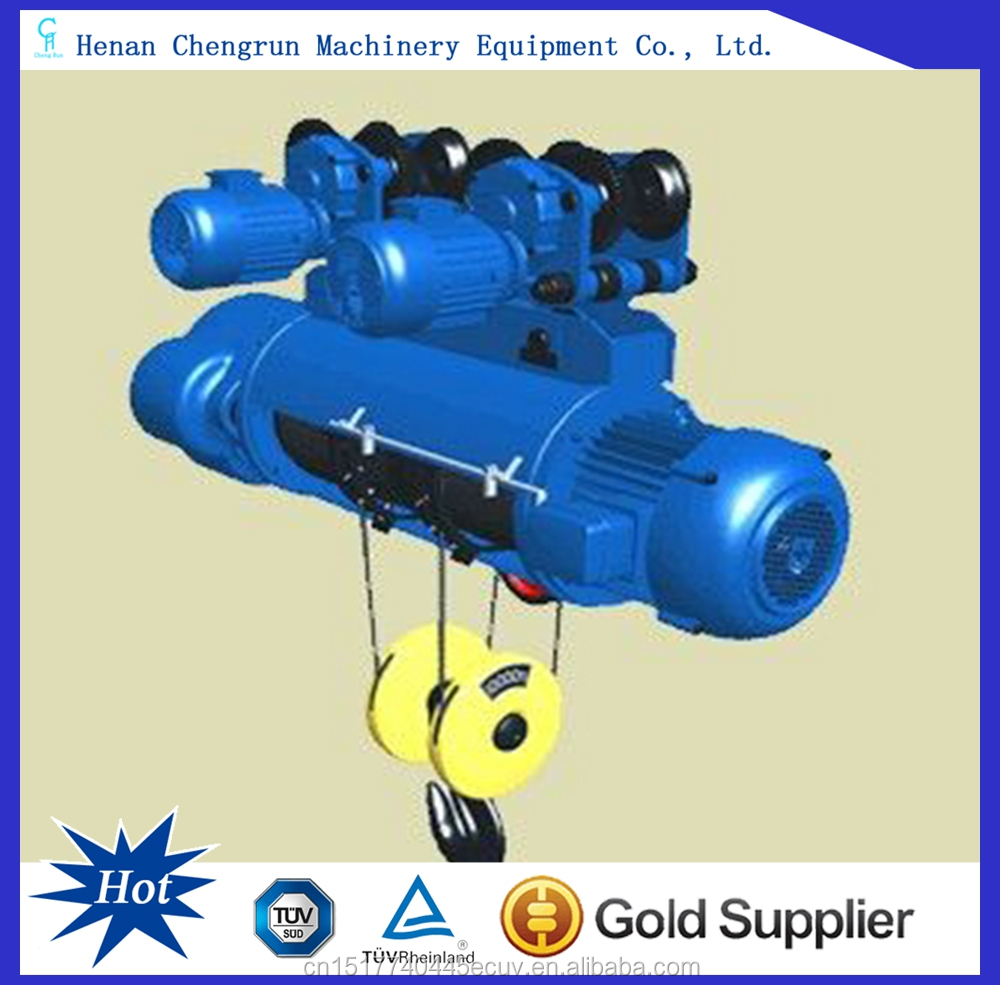 Wire Rope Electric Hoist For Overhead Crane