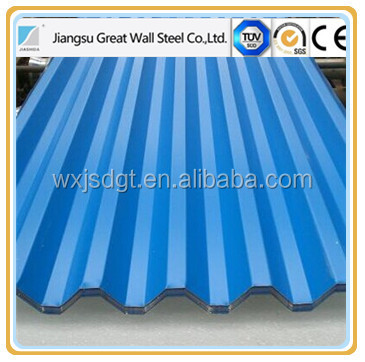 Factory Construction Materials Full Hard Iron Steel Material SGCH PPGI/Galvanized Corrugated Metal Roofing Sheet Price Per Sheet