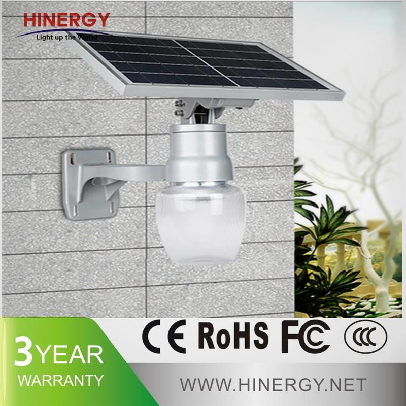 9w integrated solar light with High Efficiency, hot sale ip66 garden solar light ball