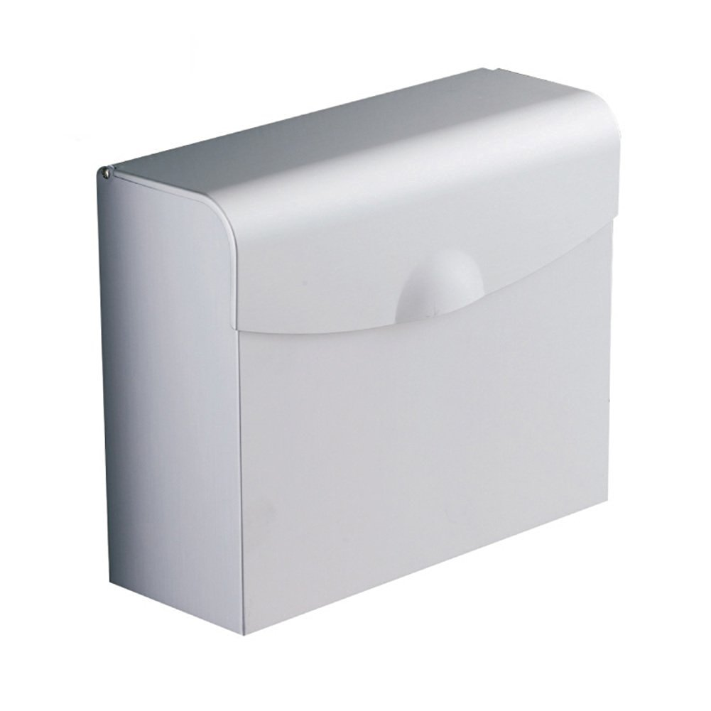 Space aluminum waterproof toilet paper box/Square Towel rack/Hygienic tray/ square toilet paper holder/Tray/ toilet roll holder