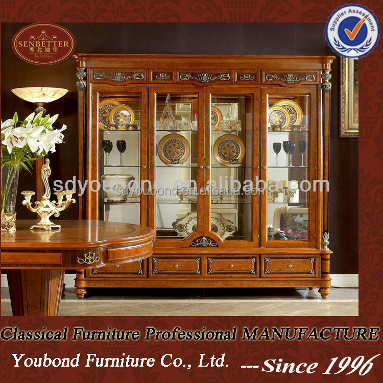 Exceptional 0029 Foshan Antique Furniture Classic Wooden Furniture 4 Door Showcase    Buy Wooden 4 Door Showcase,Wooden Classic Showcase Product On Alibaba.com