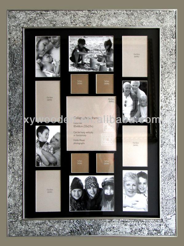 Marco de fotos de madera cuadros cuadros para graduacion - Ideas para enmarcar fotos ...
