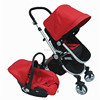 Cotton Baby Stroller Style Good Quality Aluminium Frame Reversible Handle Baby Stroller 3in1 With Car Seat