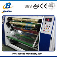 Anti-sticker Designed 1300mm Bopp Tape Slitting Machine