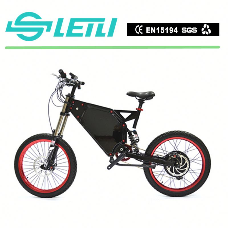 Wholesale Chinese Best Quality Green Power Fashion Middle Brushless Motor Mountain Full Suspension Electric Mountain Bike