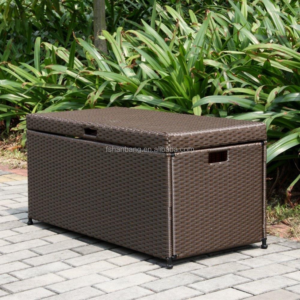 kunststoff rattan wasserdichte kissen aufbewahrungsbox set im garten produkt id 60584964272. Black Bedroom Furniture Sets. Home Design Ideas