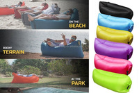 wholesale 2016 new design Fast filling Outdoor Nylon Inflatable Lazy Sleeping Air Bag,Fashional air Sofa
