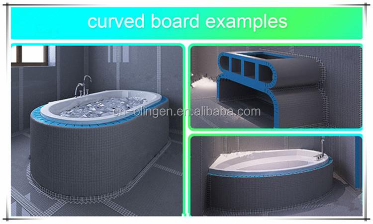 Waterdichte Schuim Isolatie Fiber Cement Board Badkamer Wandtegels Buy Badkamer Wandtegels
