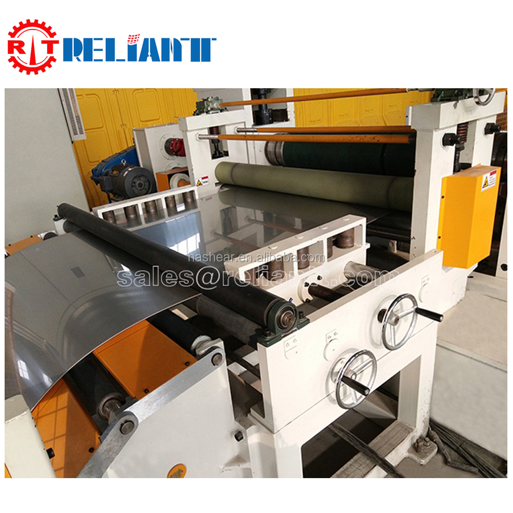 2017 NEW (0.5-3.0) x 1600 stainless steel de-coiling, leveling and cutting to length line Machine