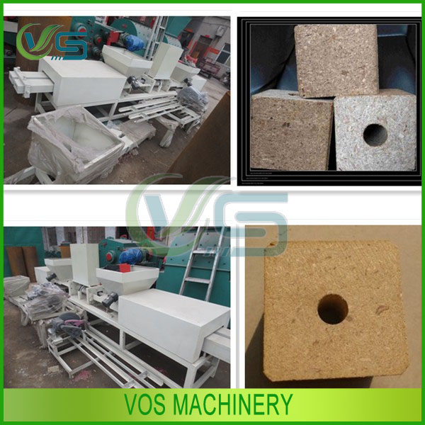 low cost pallet foot making machine can use many waste wood materials for other woodworking machinery