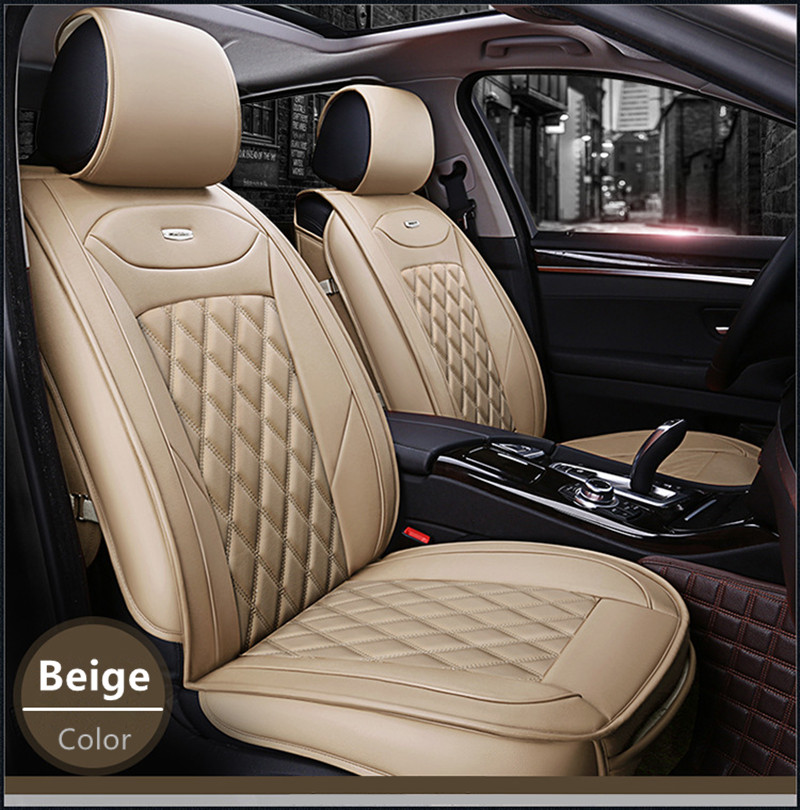 Hundred percent fit 3D waterproof leather car seat cover for Liebao motors Eagle
