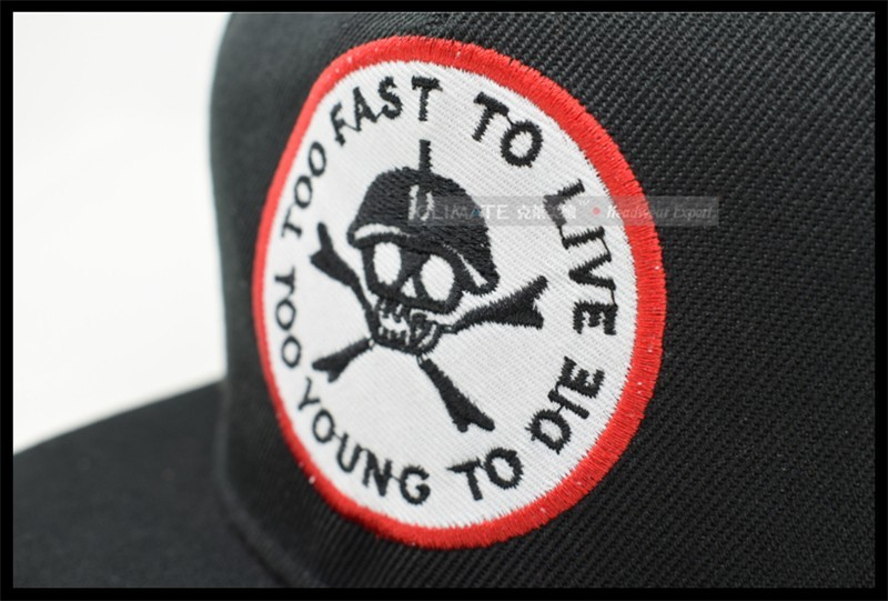 New Style Bratson From Chaos Famous Skull BoneWarrior Dancer Adjustable  hiphop Snapback cap hat for young 9c7d2edb7697