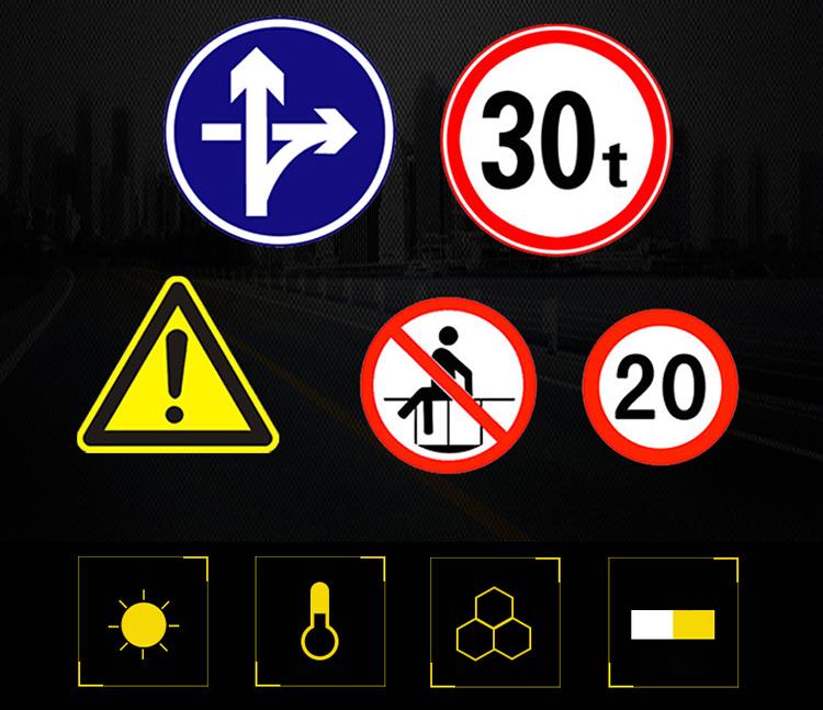 標準アルミサイン速度制限/車スピードレーダーサイン