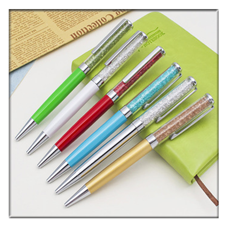 2017 Hot Selling Luxurious Bling Diamond Crystal Pen Ballpoint