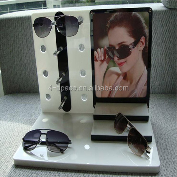 Modern Design and Manufacture Point Of Sale Acrylic Glasses Display