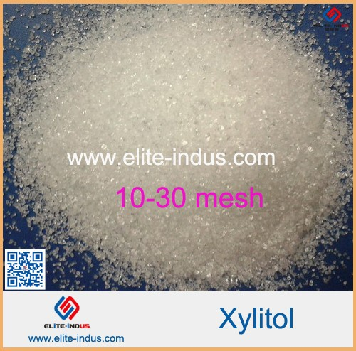 Xylitol, as food sweeteners such as the chewing gum, chocolate, hard candy