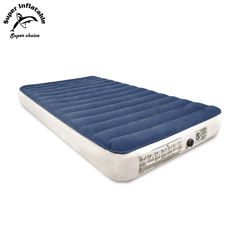 Twin Size Self Inflating Relax Blow Up Air Bed Inflatable Mattress