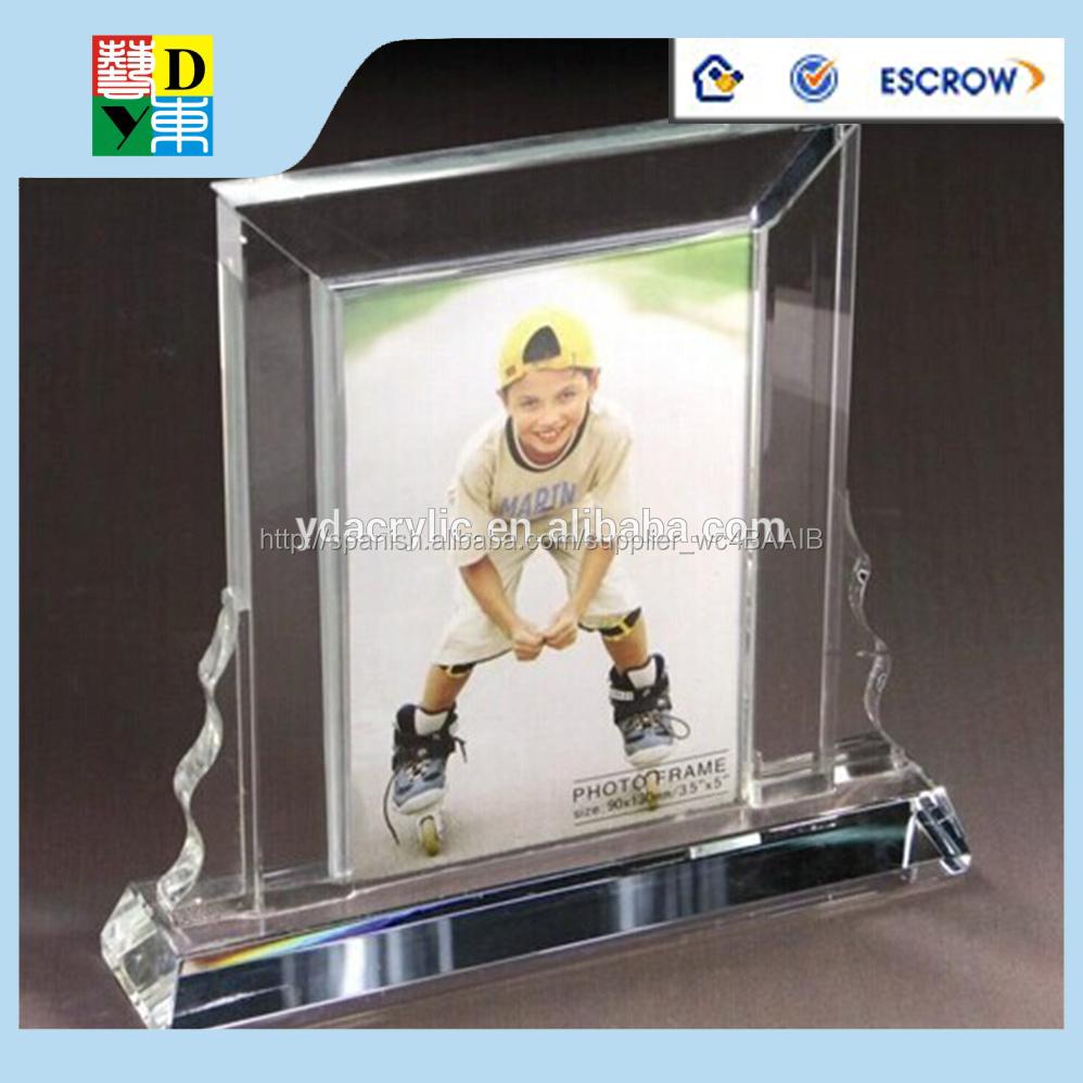acrílico plexiglás photo frames 5 x 7, nueva llegada elegante diseño ...
