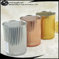 candle glass holders wholesale mercury glass votives