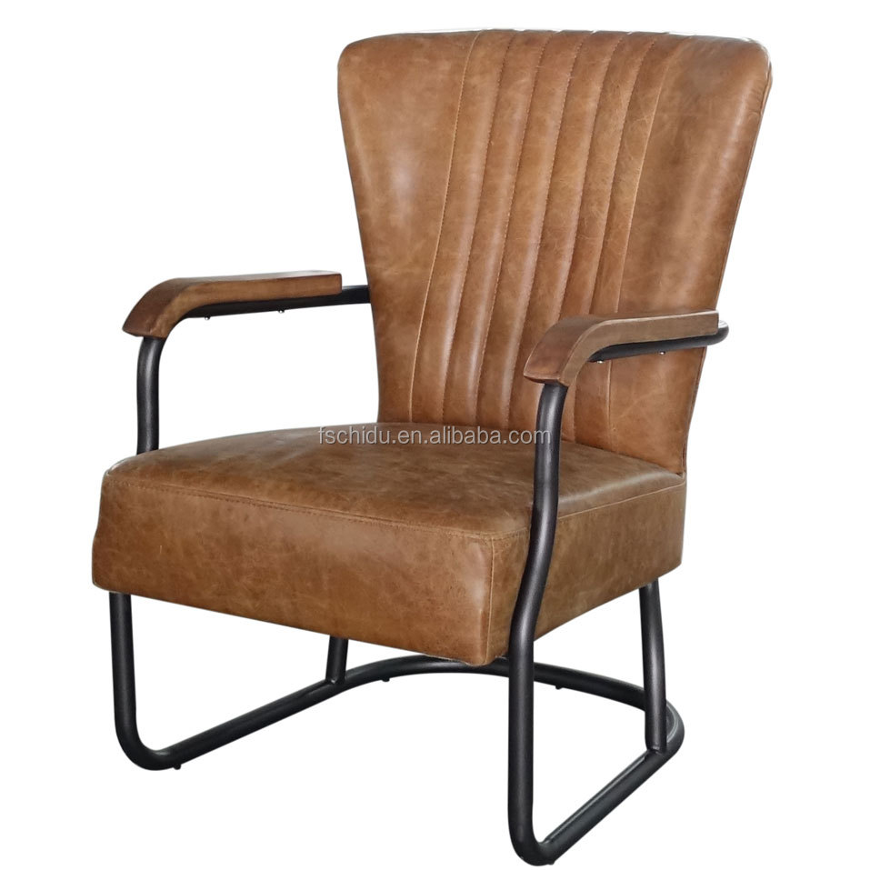 Awe Inspiring Vintage Cow Leather Iron Pipe Basic Antique Product Sofa Chair Buy Antique Product Sofa Chair Iron Pipe Basic Chair Vintage Cow Leather Armchair Alphanode Cool Chair Designs And Ideas Alphanodeonline